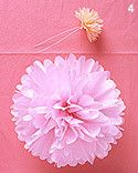 How to Make Paper Pom-Poms and Flowers | Whimsical Wonderland Weddings