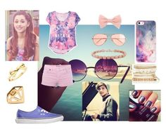 """""""a date with Louis Tomlinson"""" by harrytheunicorn ❤ liked on Polyvore featuring J.Crew, BlissfulCASE, French Connection, Kate Spade, Forever New, beach, date and louistomlinson"""