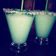Tiffany coloured drinks