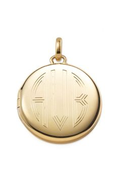 Signature Engravable Moment locket in gold by Stella & Dot. www.stelladot.com/sites/karidavis