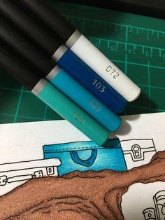 Colouring Techniques, Crayons, Color Combos, Colored Pencils, Art Supplies, Coloring Pages, Castle, Products, Pens