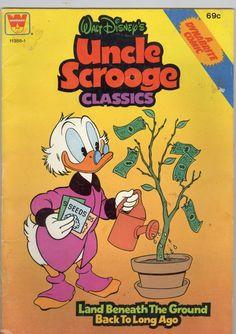 WALT DISNEY'S UNCLE SCROOGE CLASSICS COMIC 1956