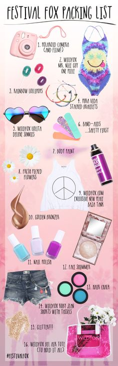 Festival Fox Packing List! #festivalfox