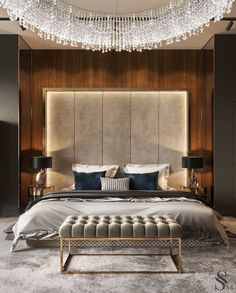 Bedroom designed by Studia 54