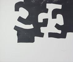 """Eduardo Chillida """"Homenatje a Joan Prats"""" Xilografía Año: 1975 Dimensiones: 46,5 x 54 cm Tirada corriente de 100 ejemplares Firmado y numerado P.A a mano Koelen 75012 Precio: Consultar Web: www.grabadosylitografias.com Más información: galeria@grabadosylitografias.com"""