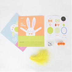 Pour transformer vos œufs en animaux pour paques / DIY easter