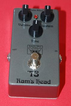 '73 Ram's Head Muff guitar pedal by Butterfly Effect Pedals.