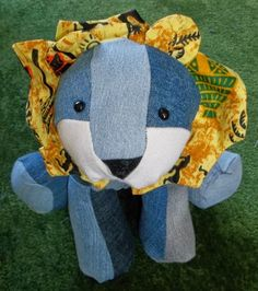 Sewing for Utange: New line - or should that be new lion?!