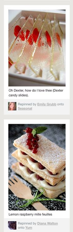 Why I love pinterest. Two very similar looking pins, yet two VERY DIFFERENT pins. :)