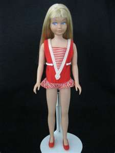 My first Barbie doll was actually Skipper.  I think she was Barbie's younger cousin?