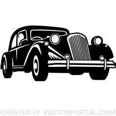 OLD VEHICLE VECTOR ILLUSTRATION - Download at Vectorportal