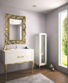 Perfect  Smile Boys Bathroom Woods Gold Rustic Vanities Madeira Glamour Bath