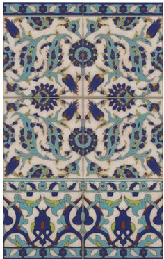 Great colors on these new Tunisian inspired tiles. #madeinUSA