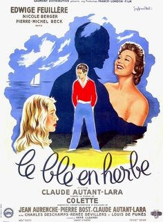 Affiche ancienne de cinéma
