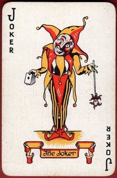Alf Cooke was an important producer of playing cards and card games in the UK during the period Joker Playing Card, Joker Card, Printable Playing Cards, Joker Und Harley, Jester Costume, Joker Clown, Divination Cards, Heath Ledger Joker, Pierrot