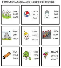 Italian Vocabulary, Everyday Italian, Italian Language, Learning Italian, Speech Therapy, Kids And Parenting, Kids Learning, Preschool, Teaching