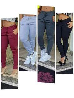 calça ribana moda feminina aproveite ......