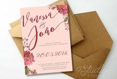 Convite de Casamento (Digital)