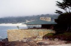 Walker Residence by Frank Lloyd Wright, at Carmel, California, 1948
