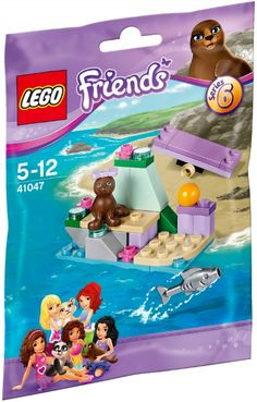 41047 LEGO Friends Animals - Series 6 Seal's Little Rock