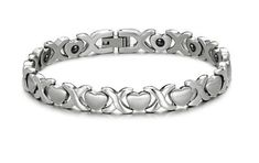 Brand New Lady's Titanium Magnetic Bracelet Anti-fatigue Anti-radiation in a Nice Gift Box SunnyHouse. Save 85 Off!. $29.99. Comes with a FREE Gift Box, 30-Day Money Back Guarantee. Hematite, Anti-fatigue and Anti-radiation. Titanium Steel, Laser Cutting and Polishing Technique
