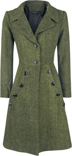 Nicole Green Style Coat - My style - Look Retro, Look Vintage, Vintage Woman, Casual Chic Outfits, Fashion Outfits, Fashion Trends, Fashion Coat, 40s Outfits, Jackets Fashion