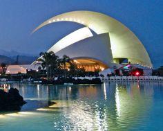 Santa Cruz de Tenerife Auditorium #canaries #travel