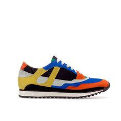 Image 1 of COLOURED SNEAKER from Zara