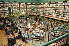Librería y cafetería El Péndulo, en México D.F.