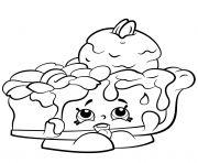 Print Popcorn Box Poppy Corn shopkins season 2 coloring pages