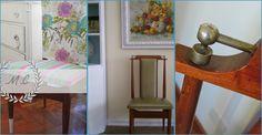 Silla clásica renovada para una decoración vintage
