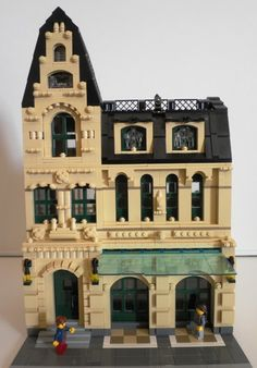 Bookshop made out of Lego