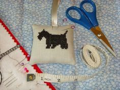 Scottie Dog Pin cushion £5.00