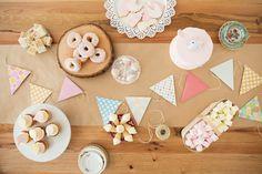 Table sucrée pour fête d'enfant - (www.mllesgateaux.com)