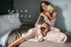 """'Dream catcher' cover story for ELLE Australia February 2016 issue with actress and earth mother Teresa Palmer wearing """"I am Aphrodite """" rose silk organza embroidered nevenka dress Styled by Rachel Wayman, photo by Derek Henderson Cameron Russell, Ohana Means Family, Teresa Palmer, Mother Teresa, Mothers Love, Woman Crush, Fashion Shoot, Actors & Actresses, Australia"""