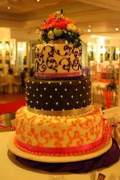 Debutantes 3-layered fondant cake -- Sulo Riviera, PH