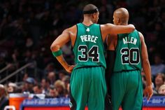 Kevin Garnett, Paul Pierce, Rajon Rondo, Kendrick Perkins and Glen Davis discussed former Boston Celtics teammate Ray Allen Monday on TNT's…
