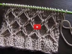 Herringbone Stitch Right Side ❤️ : He Side Diy Crafts Marecipe Buzztmz Knittingpattern - Diy Crafts Knitting Stiches, Cable Knitting, Easy Knitting Patterns, Knitting Videos, Crochet Videos, Knitting Designs, Crochet Stitches, Stitch Patterns, Crochet Patterns