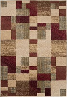 Surya Riley RLY5006 Contemporary Machine Made 100 Polypropylene Light Pear 66 x 98 Geometric Area Rug >>> Be sure to check out this awesome product.