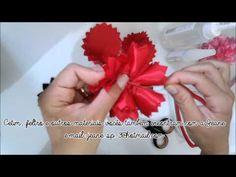 Flor de Cetim Passo A Passo#01 - YouTube