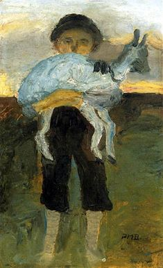 Paula Modersohn-Becker - Boy with Goat