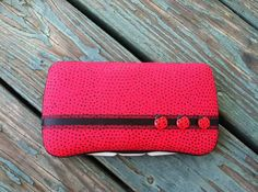 Lady Bugs Boutique Style Travel Baby Wipe by CrystalCreations108, $8.25