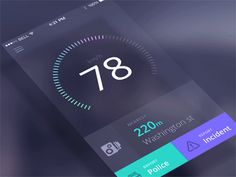 Speedcam App Animation By @Team Mango Media Private Limited Via http://www.themangomedia.com/blog/15-outstanding-mobile-ui-animations-in-gifs/