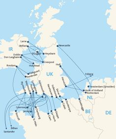 UK Ferry Routes