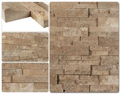 Order Cabot Natural Ledge Stone Travertine - Cordoba Noche / Ledge Stone / delivered right to your door. Stone Siding, Travertine, Interior And Exterior, Natural Stones, Family Room, Fireplace Ideas, Stiles, Wallpaper, Nature