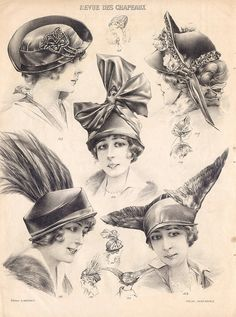 revdeschapeaux by pilllpat (agence eureka), via Flickr-  she has uploaded lots of photos from this catalog.
