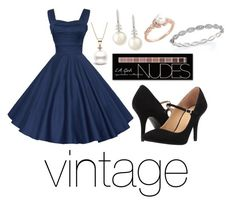 """""""vintage"""" by cjflynn on Polyvore featuring Roberto Coin, Charlotte Russe, Belpearl, MICHAEL Michael Kors and vintage"""