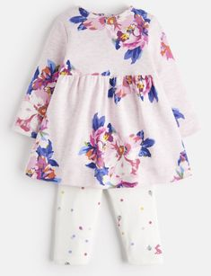 46d3a1251951 Joules baby Christina Dress Set- Pink floral