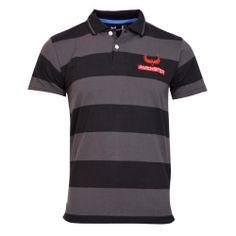 Avenster Black Grey Striper T Shirt-₹349.00
