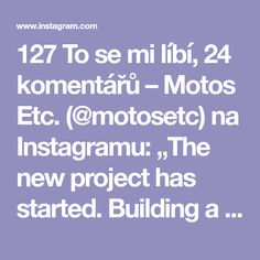 "127 To se mi líbí, 24 komentářů – Motos Etc. (@motosetc) na Instagramu: ""The new project has started. Building a vw #caddy #campervan. First up is the #sofa / #bed /…"""